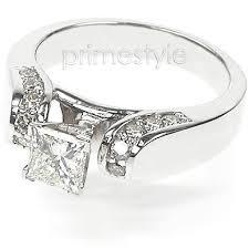unique princess cut engagement rings princess cut engagement rings primestyle and