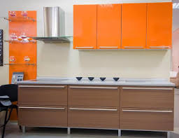 Laminate Kitchen Cabinet Orange Kitchen Cabinets Stunning Modern - Laminate kitchen cabinets