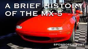 the mazda a brief history of the mazda mx 5 miata sponsored by mazda youtube