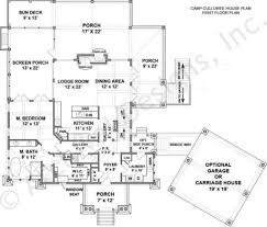 Lakefront Home Floor Plans Camp Cullowee Mountain House Plans Luxury House Plans