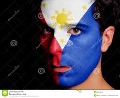 Filipino Flag Colors Flag Of Philippines Stock Image Image Of Looking National 36538743