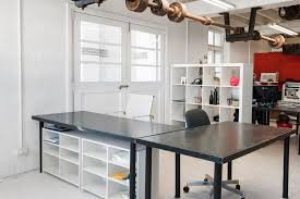 Creative Office Space Ideas Office Outstanding Office Design With White Wall And White Glass