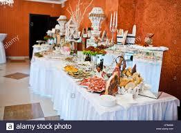 food tables at wedding reception royal elegance wedding reception table with different cookery food