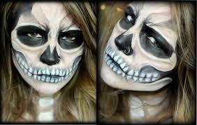 Skeleton Halloween Face Makeup by Skeleton Skull Makeup Halloween Tutorial Youtube