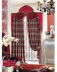 Floral Jacquard Curtains Best Luxury Ready Made Curtains For Sales