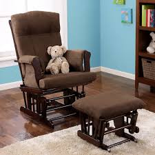amazon com baby relax glider and ottoman espresso baby