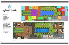 Italian Villa Floor Plans by Villa Shambala Seminyak 5 Bedroom Luxury Villa Bali