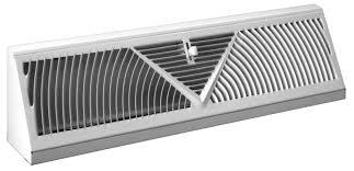406 steel baseboard diffuser 4 5