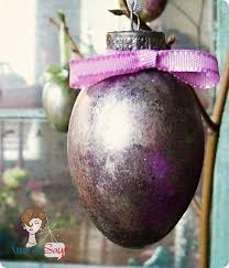 glass easter egg ornaments mercury glass easter eggs a great diy great ideas