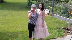 high school graduation dress grandmother in tears after seeing granddaughter s graduation dress