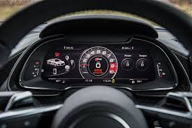 audi r8 gauges the audi r8 v10 is a beautiful 600bhp you really can