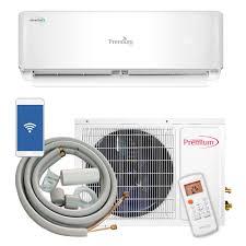 premium 12 000 btu 1 ton ductless mini split air conditioner and