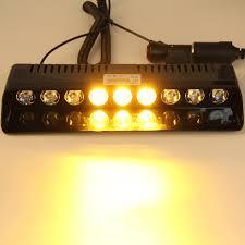Led Emergency Dash Lights Aliexpress Com Buy Carchet 9 Led Emergency Lights Amber Yellow