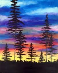 best 25 sunset painting easy ideas on pinterest easy pictures