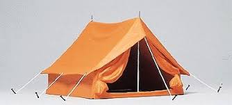 Tent Building Camping Tent Model Railroad Building Accessory G Scale 45215 By