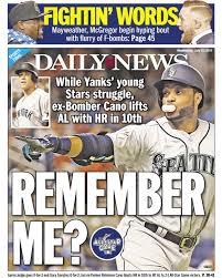 Aaron Judge Gary Sanchez Struggle In Game 1 Loss To Indians Newsday - remember me july 12 2017 photos new york daily news back pages