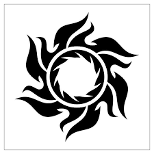 tribal sun designs tribal sun tattoos tribal sun and