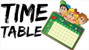 Table For 12 by How To Make Time Table For Study In Hindi Time Table For