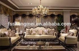 New Luxury Wood Sofa Set Classic Design Wood Carving Sofa Charming - Luxury sofa designs