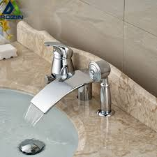 Waterfall Tub Faucet Compare Prices On Tub Faucet Set Online Shopping Buy Low Price