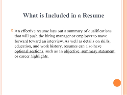 does a cover letter include