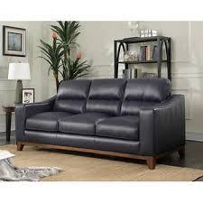 Costco Sofa Leather Home Marcella Spa Blue Leather Sofa Sofas Regarding