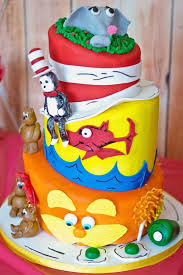 dr seuss birthday cake dr seuss birthday party via kara s party ideas drseuss cakes