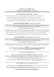 Best Marketing Resumes by Resume Format Marketing Manager