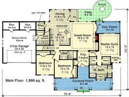 Craftsman Style Open Floor Plans 66 Best House Plans Images On Pinterest Dream House Plans House
