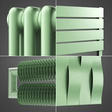 Radiateur Electrique Style Retro Radiateur En Vert Pastel Ral 6019 Hothot Radiateurs
