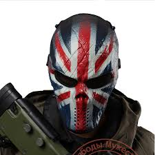 British Soldier Halloween Costume Mask Costume Picture Detailed Picture Knight