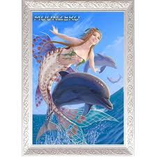 dolphin home decor full square diamond painting cross stitch kits embroidery diy