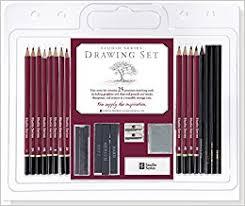 studio series 25 piece sketch u0026 drawing pencil set artist u0027s