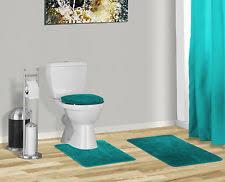 Navy Blue Bathroom Rug Set 3 Piece Solid Navy Blue Bathroom Set Bath Mat Contour Lid Cover