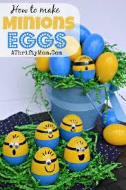 Homemade Minions Easter Eggs DIY Easter Egg Decorating Ideas