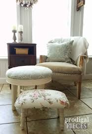 Easy Upholstery Footstool Upholstery It Really Is That Easy Prodigal Pieces