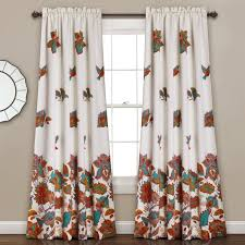 Black Out Curtain Panels Red Barrel Studio Blackfoot River Thermal Blackout Curtain Panels