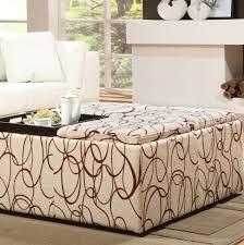 coffee table fabulous storage ottoman large upholstered ottoman