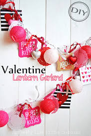Easy Diy Valentine S Day Decor by Diy Valentine Lantern Garland U2013 Top Easy Interior Decor U0026 Craft