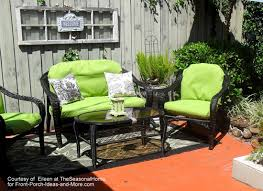 Ideas For Painting Garden Furniture by Summer Decorating Ideas For A Lovely Porch This Season
