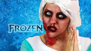 Elsa Costume Homemade Zombie Elsa Costume For Halloween Frozen Musas Youtube