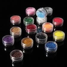 aliexpress com buy sale new 16 mixed colors pigment glitter