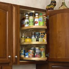 Kitchen Pantry Doors Ideas Pantry Door Spice Rack With Wood Pantry And Brown Color Cabinet