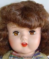 plastic hair plastic vintage dolls identified 1950s