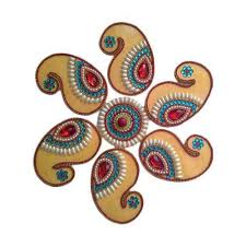 traditional design designer rangoli manufacturer from delhi