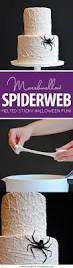 Cake Recipes For Halloween Marshmallow Spiderweb Cake