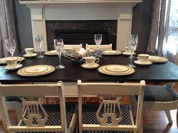 Painting Kitchen Cabinets Black Distressed by Kitchen Furniture Cool Distressed Wood Dining Set Antique White
