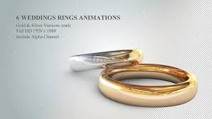 weddings rings silver images 6 3d wedding rings animations by flashato videohive jpg