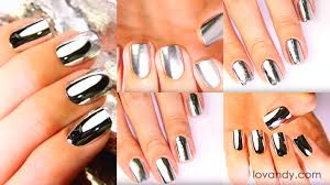 how to make chrome nails top 5 ways tutorial