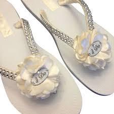 wedding flip flops 17 best ideas about bridal flip flops on wedding flip